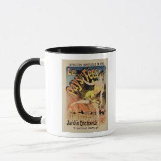 Mug Reproduction royaume des fées de publicité par