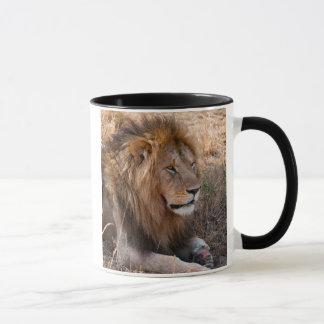 Mug Réservation nationale de Maasai Mara de lion,