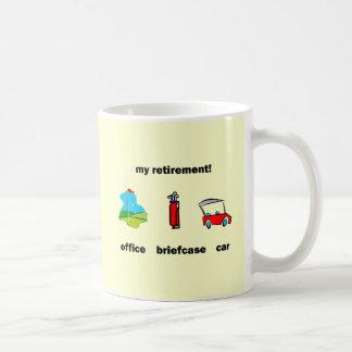 Mug Retraite drôle de golf