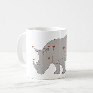 Mug Rhinocéros de la chaleur