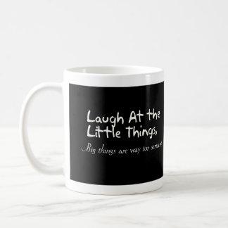Mug Riez des petites choses, énonciation de motivation