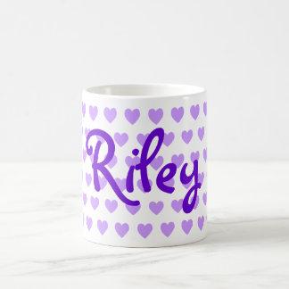 Mug Riley dans le pourpre