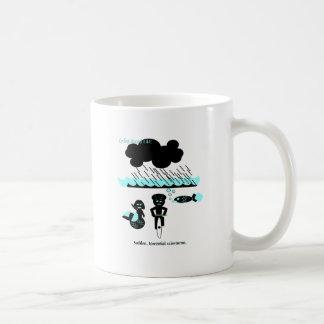 Mug Risque de recyclage : Tempêtes de pluie