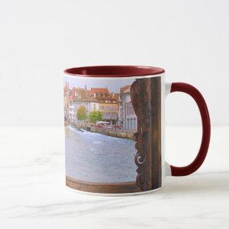Mug Rivière en luzerne, du pont en bois