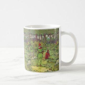 Mug Robin Hood dans la forêt