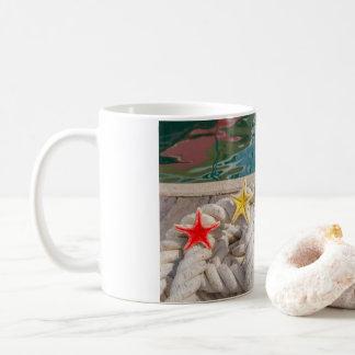 Mug rope pour amarrer avec deux étoiles de mer de mer