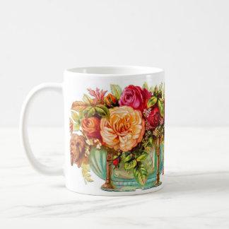 Mug Rose Bowl vintage de style
