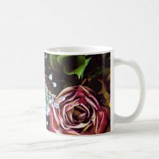 Mug Roses et souffle secs de bébés
