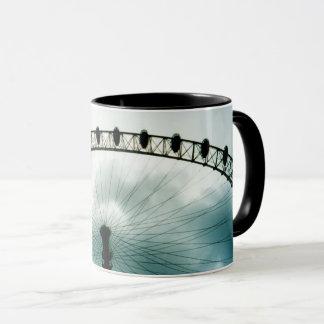 Mug Roue de millénaire d'oeil de Londres, Angleterre