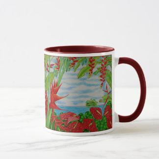 Mug Rouge tropical
