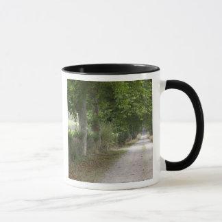 Mug Route de campagne rurale de saleté près de la