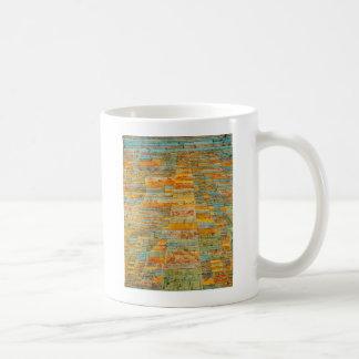 Mug Route et chemins détournés par Paul Klee