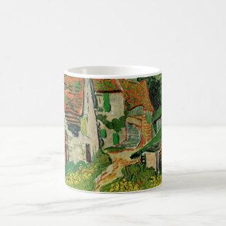 Mug Rue de village de Van Gogh, beaux-arts vintages