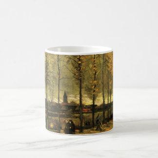 Mug Ruelle de Van Gogh avec des peupliers, beaux-arts