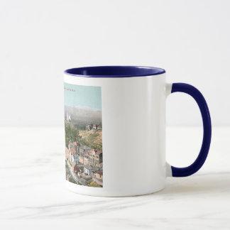 Mug Salt Lake City, UT, cru de colline de perspective