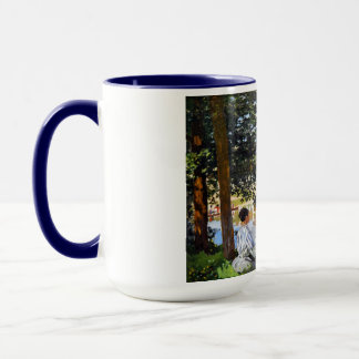 Mug Scène de rivière chez Bennecourt, Claude Monet