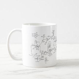 Mug schéma électrique de mon coeur