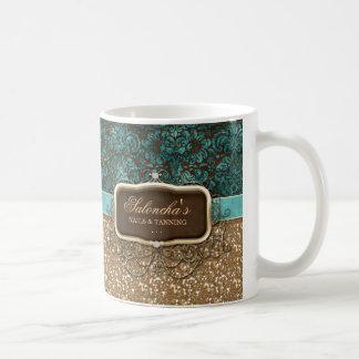 Mug Scintillement de bronzage de lustre d'immobiliers