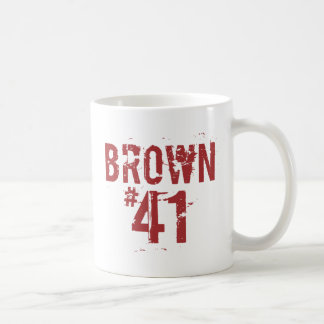 Mug Scott BROWN #41