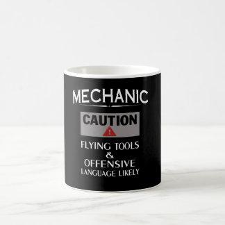 Mug Sécurité de MÉCANICIEN