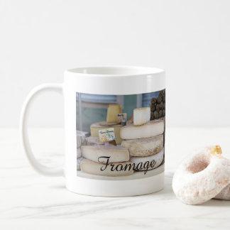 Mug Sélection française rustique de fromage