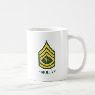 Mug Sergent de gril d'armée