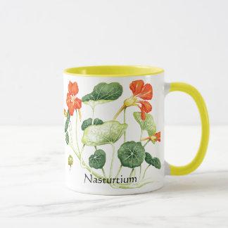 Mug Série de jardin de herbes aromatiques - nasturce