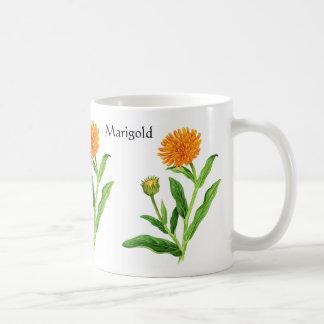 Mug Série de jardin de herbes aromatiques - souci