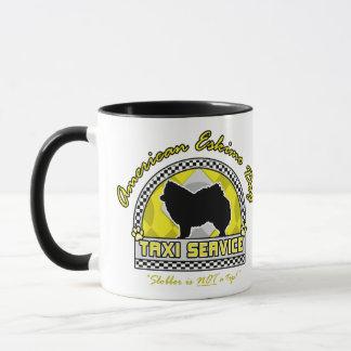 Mug Service américain de taxi de chien esquimau