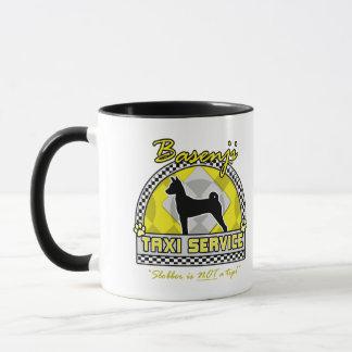 Mug Service de taxi de Basenji