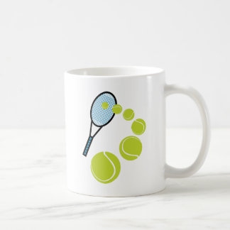 Mug SERVICE de TRANCHE de FAN de tennis