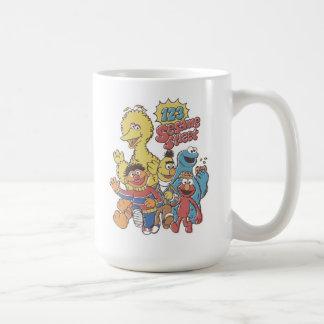 Mug Sesame Street du cru 123