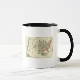 Mug Sexes par des comtés