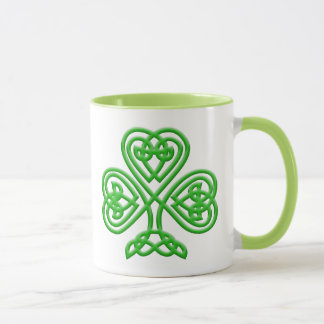 Mug Shamrock celtique