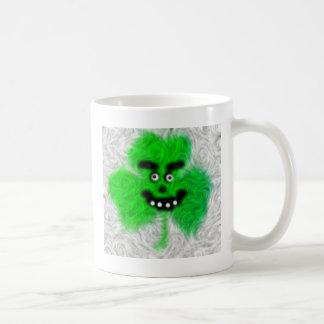 Mug Shamrock irlandais fou
