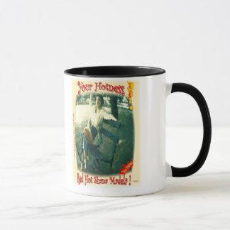 Mug Shana d'un rouge ardent Madela