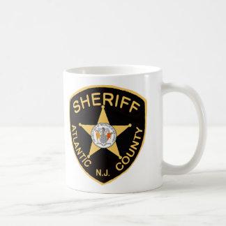 Mug Shérif du comté d'Atlantic