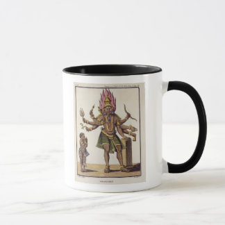 Mug Shiva comme Virapatren, seigneur avec le mal mal
