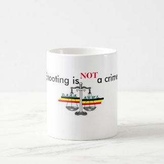 Mug shooting is not a crime