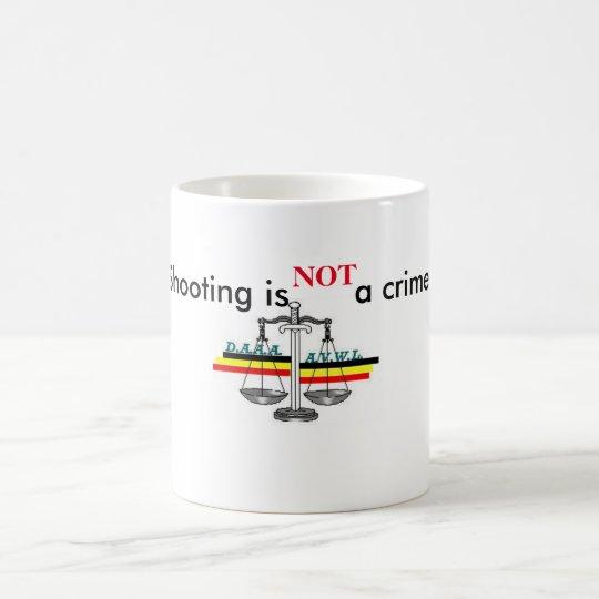 Mug shooting is not a crime