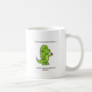 Mug Si les dinosaures avaient des professeurs
