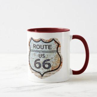 Mug Signe de mur de briques de droite 66