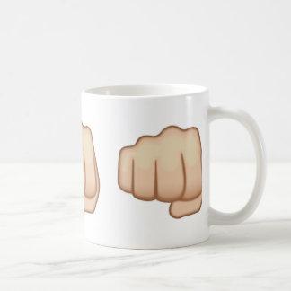 Mug Signe Emoji de main de Fisted