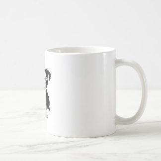 Mug Silhouette de jitterbug