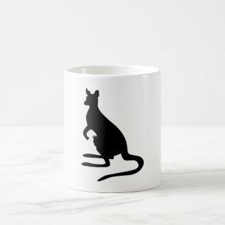 Mug Silhouette de kangourou