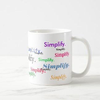 Mug Simplifiez. (1 de 3)