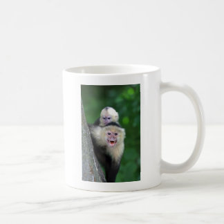 Mug Singes faits face blancs de capucin