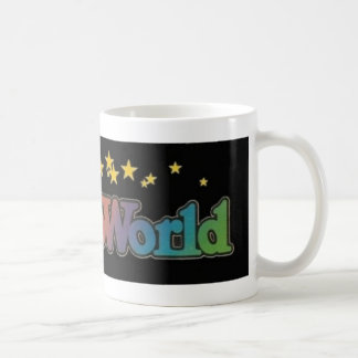 Mug Six parcs d'attractions d'Astroworld de drapeaux