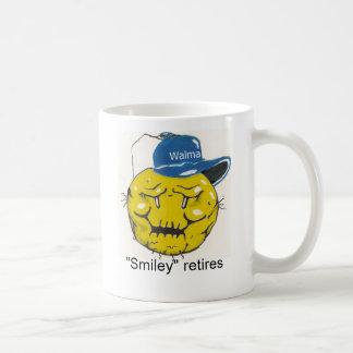 "Mug smiley-1, ""smiley"" se retire"