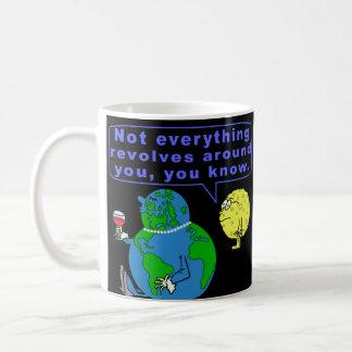 Mug Snob drôle de la terre